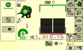 Hoofdscherm met simpele en duidelijke pictogrammen