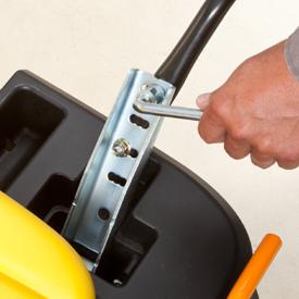 Verstelbare motion control hendels