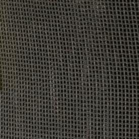 Close-up van het grofmazige materiaal van de opvangzakken
