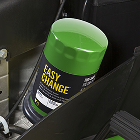 John Deere Easy Change-systeem voor olie verversen in 30 seconden
