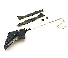 Optionele mulch-plug (typische mulch-plug afgebeeld, niet de BG20560)