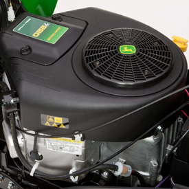 675 cc, V-twin motor