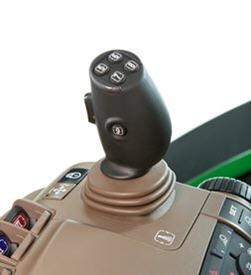 Herconfigureerbare elektrische joystick en flippers op CommandARM™-bedieningen