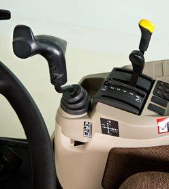 Elektrohydraulische derde SCV-joystick voor open-station-tractoren