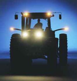 Verlichting en waarschuwingsborden voor extra brede voertuigen