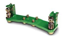Gedwongen stuursysteem met twee zijden voor kogelinzetstuk (3-in-1-rail)