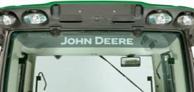 John Deere-sticker voor achterraam