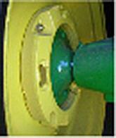 Achterwielgewichtset, 77 kg (169,8 lb) (2 x 38,5 kg [84,9 lb], een voor ieder wiel)