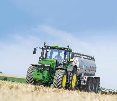 Onderweg de voedingsstoffen in drijfmest analyseren is mogelijk met John Deere mestsensing
