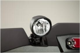 Werklampen (op de achterkant gemonteerd)
