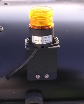 Zwaailichtset - 48 V op de cabine gemonteerd
