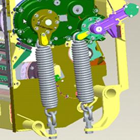 Mechanical spring JOHN DEERE 8000