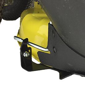 Rear chute latch