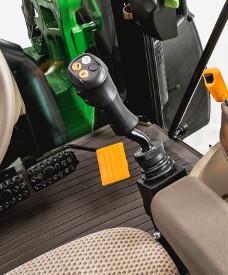 Mechanický joystick nakladače