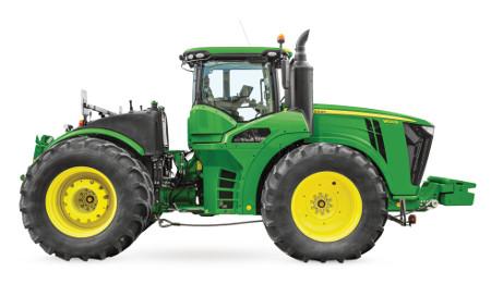 Kolové traktory řady9R – Váš výkonný všestranný pomocník