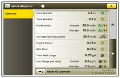 Strona monitora pracy