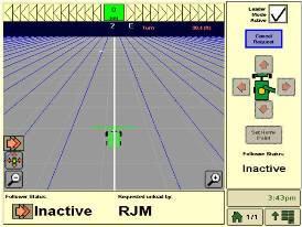 Strona układu synchronizacji maszyn