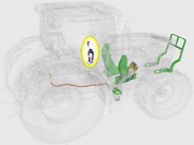 Zintegrowane sterowanie dźwignią joysticka
