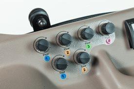Rozwiązanie elektrohydraulicznego gniazda hydrauliki: sterowanie natężeniem przepływu i czasem