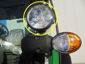873O - Dwa światła robocze na ramie kabiny – H4