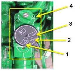 Mechanicznie sterowane gniazdo hydrauliki wysokiej klasy