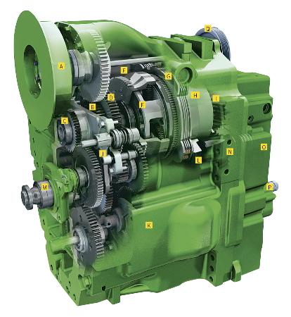 Przekładnia AutoPowr umożliwia płynną zmianę biegów od momentu rozruchu do uzyskania maksymalnej prędkości.