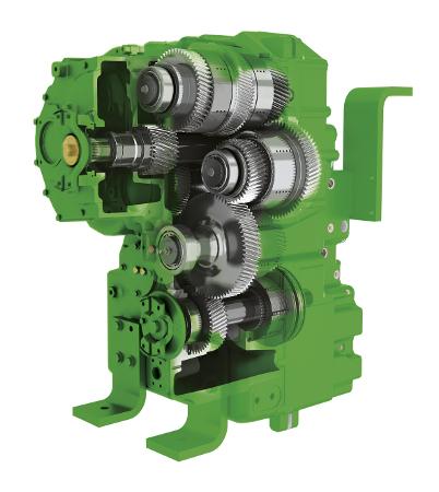 Przekładnia e18 PowerShift zapewnia minimalne zużycie paliwa