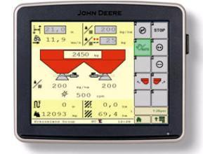 Controlo de Secção com um distribuidor ISOBUS