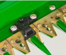 Proteção contra pedras para lâmina de corte duplo