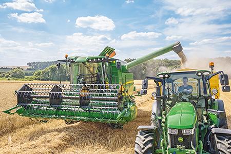 Depósito de grãos com sem-fins inferiores amovíveis para produtores de sementes