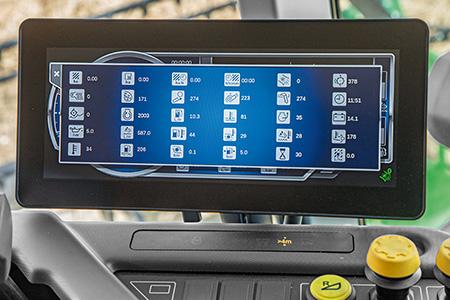 As métricas do monitor permitem otimizar o desempenho e o tempo útil