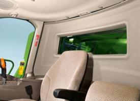 Visibilidade traseira da cabina