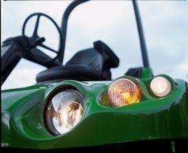 Conjunto de luzes de estrada