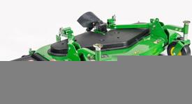 Plataforma de corte de 72 pol. 7-Iron com descarga lateral