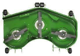 Mostra-se a plataforma de corte 7-Iron PRO de 152 cm (60 pol.)