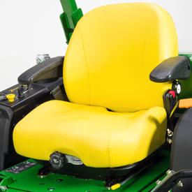 Assento com suspensão opcional