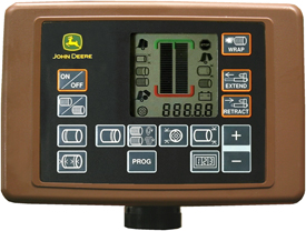 Informações e definições avançadas no monitor BaleTrak