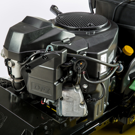Motor de dois cilindros em V com funcionamento suave