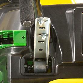 Alavancas de controlo de movimento ajustáveis (Z525E shown)