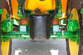 Vista traseira da suspensão do eixo ProRoad
