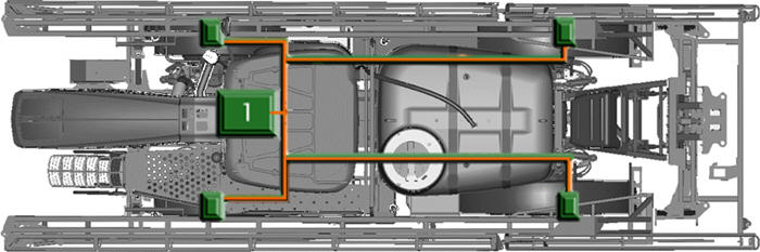 Transmissão QuadControl com bomba hidrostática Sauer Danfoss (1)