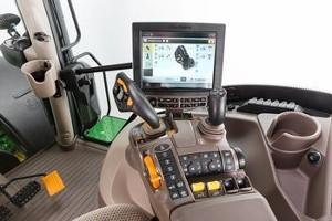 Cabina ComfortView com joystick CommandPRO
