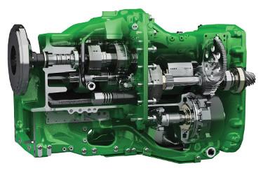Transmissão e23 com 23 velocidades de avanço e 11 velocidades de marcha-atrás