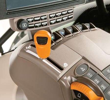 A AutoPowr™ possui uma velocidade ecológica a 40 km/h (25 mph) e 1200 rpm para poupar combustível
