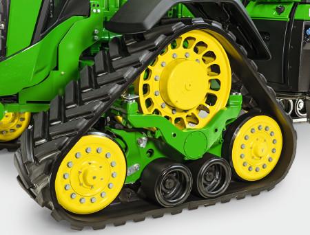 Máxima proteção do solo graças a uma superfície de contacto com até 4,57 m² (49.2 sq ft)