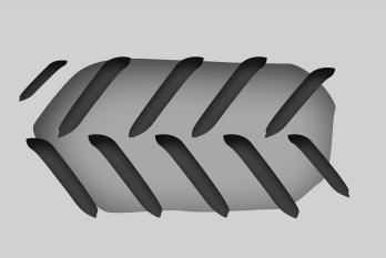 Trator com rodas