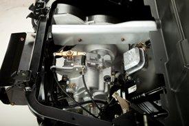 Sistema de potência 34,8 pol. cúbicas (570 cm<sup>3</sup>) motor à gasolina