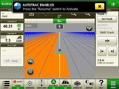 Клавиша быстрого доступа к настройке работы (крайняя слева)