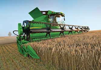 Производство более 650000 жаток означает, что данная жатка является надежной и проверенной в полевых условиях