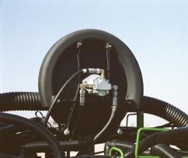 Вакуумный вентилятор на сеялке 1795
